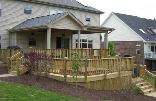 Deck roof plans free