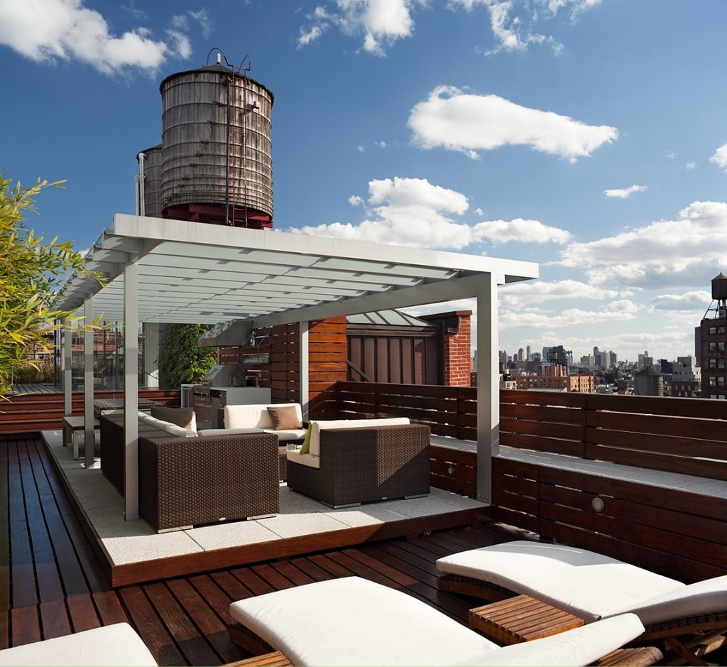 Roof deck nyc building code Deck rooftop