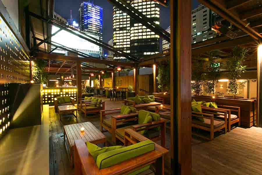Deck rooftop bar melbourne