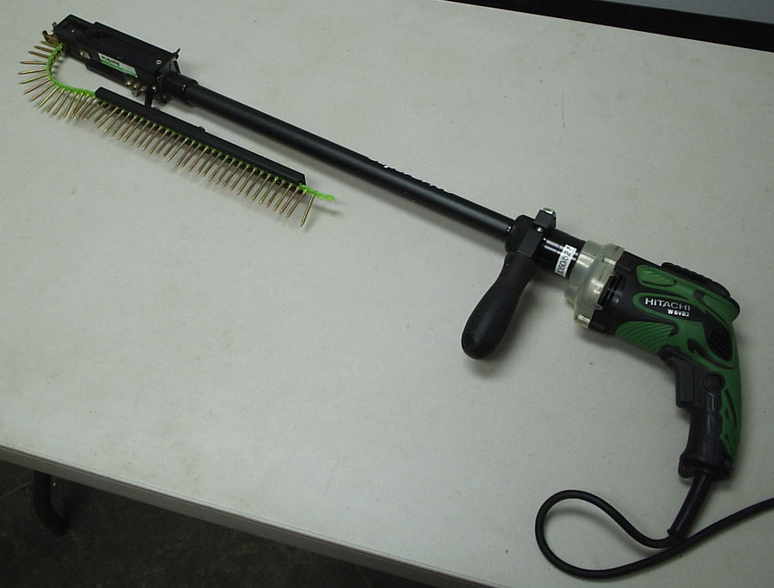 Deck screw gun