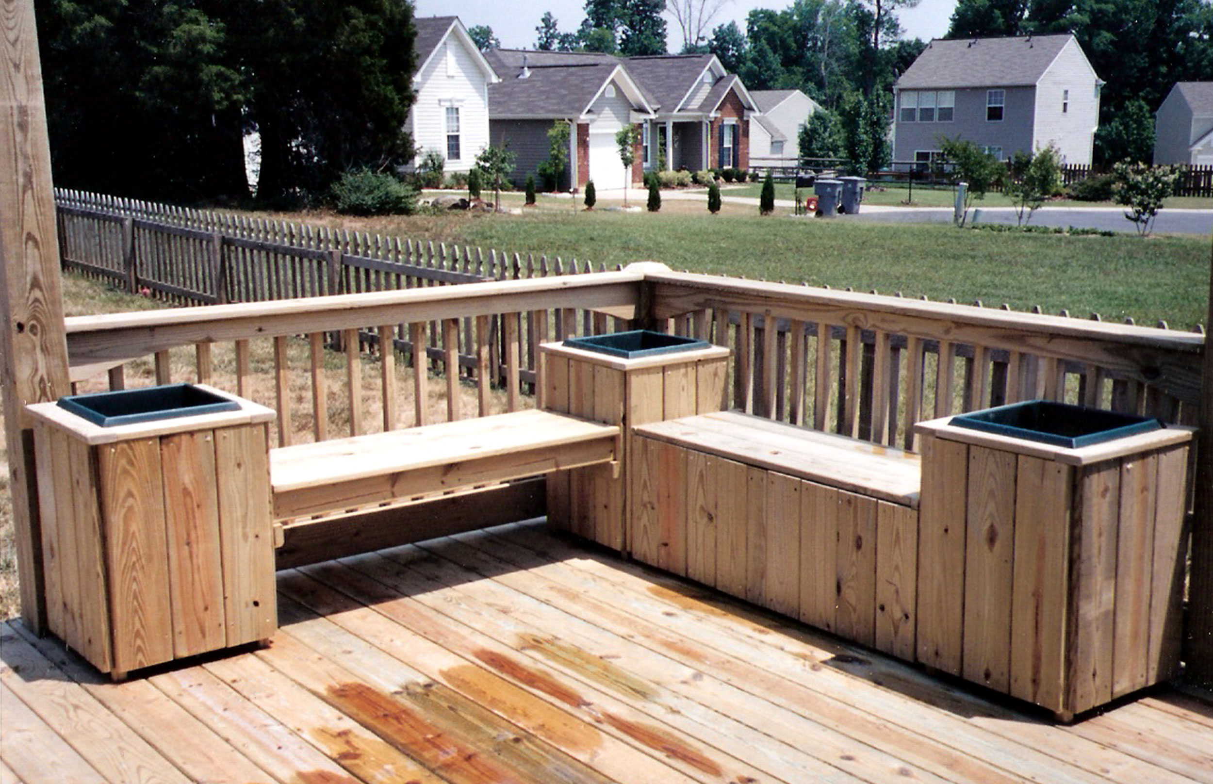 Deck seating images