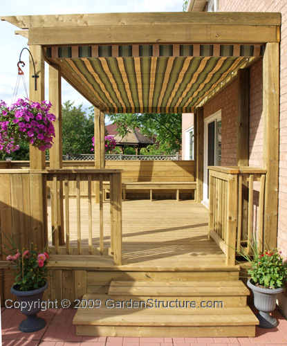 Deck shade plans