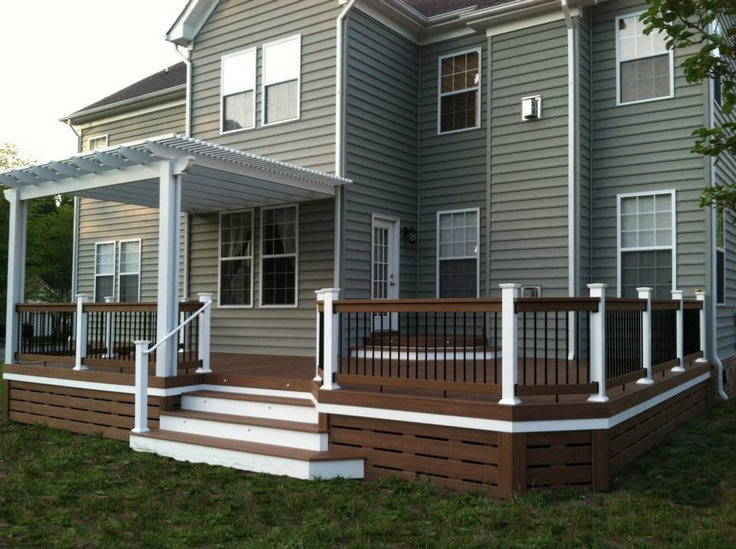 Deck skirting images
