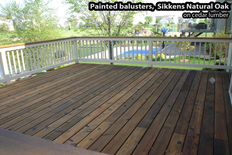 Deck stain images