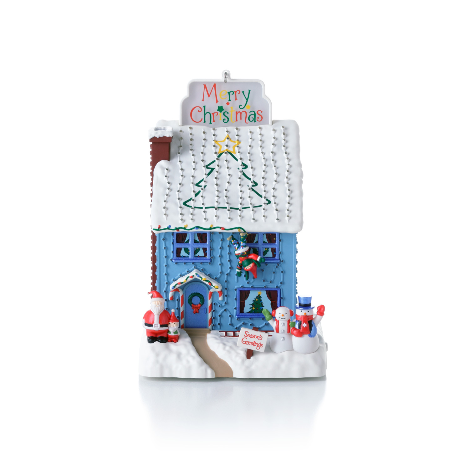 Deck the house 2012 hallmark ornament