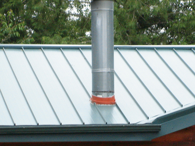 Deck tite roof flashing