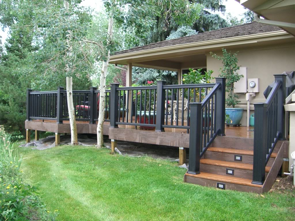 Floating deck with pergola deck design and ideas - Deco pergola ...