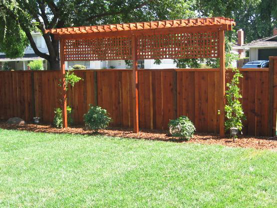 Deck trellis pictures