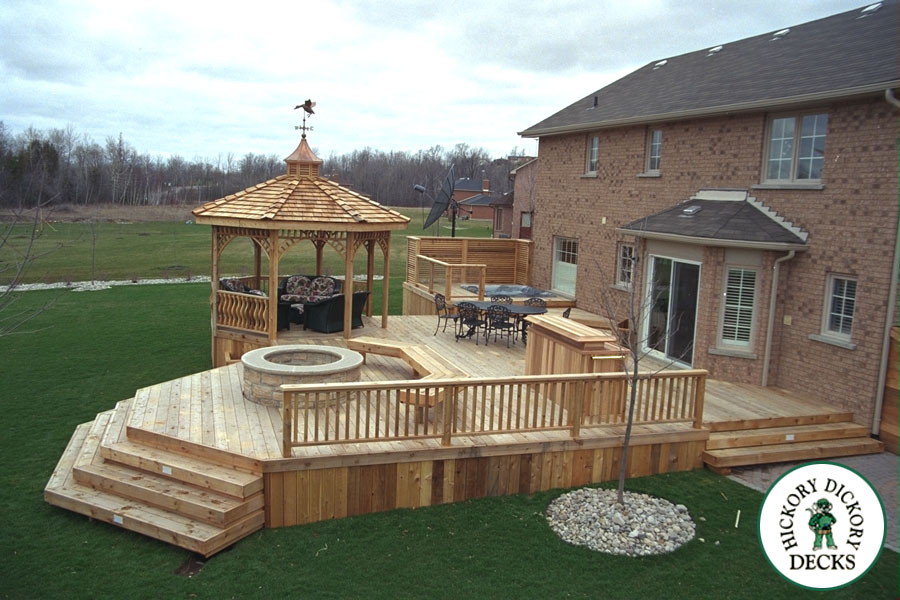 Deck vs patio or porch