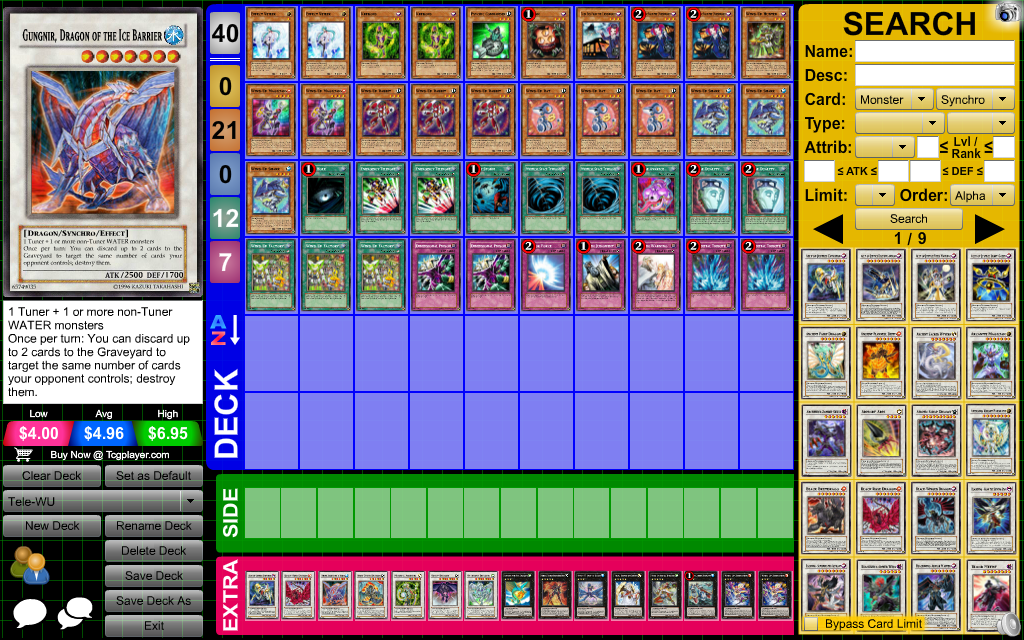 Deck wind up yugioh