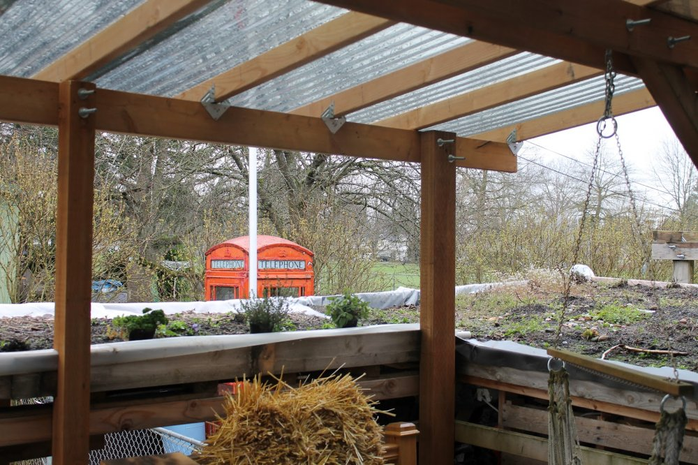 Deck with roof pictures