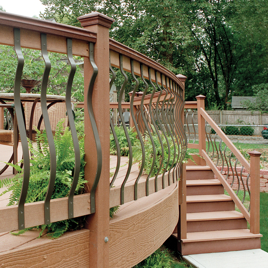 Deck wood balusters