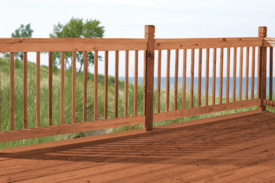 Deck wood home depot