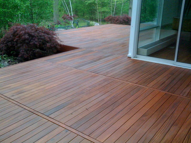 Deck wood ipe