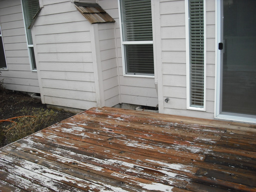 Deck wood paint
