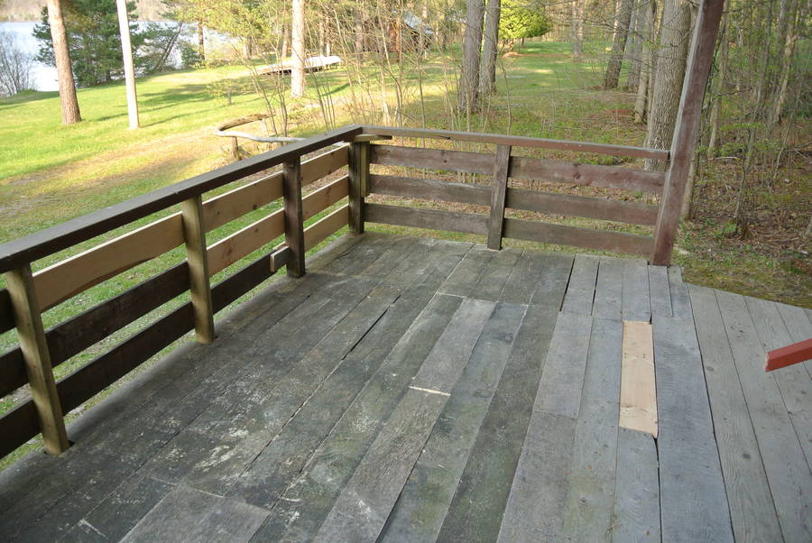 Deck wood repair