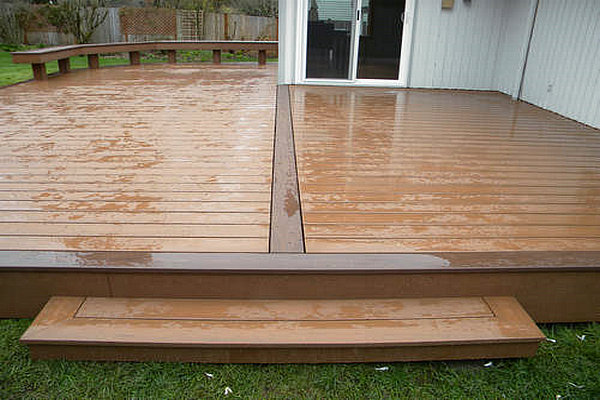 Deck wood vs composite cost