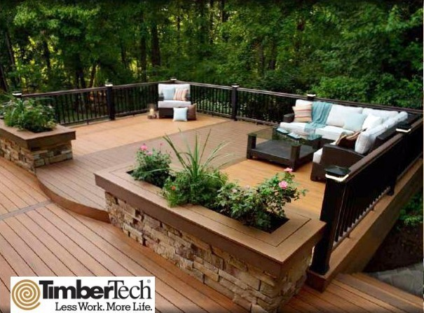 Deck Garden Ideas multilevel decks Garden Deck And Landscape Deck Your Garden