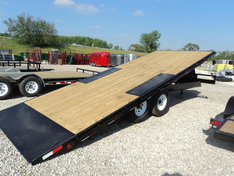 Deckover enclosed trailer