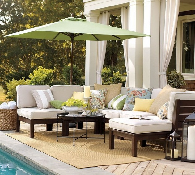 Decora homeware garden deck umbrella