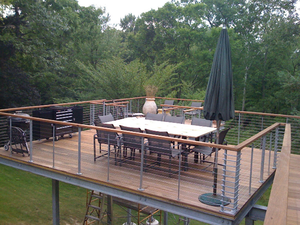 Elevated deck pictures