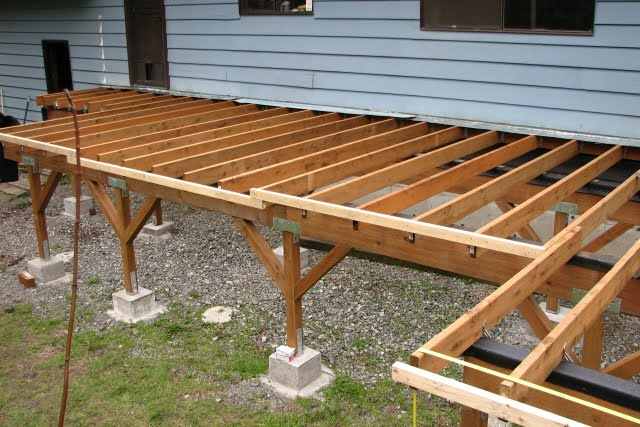 Flashing for deck joists