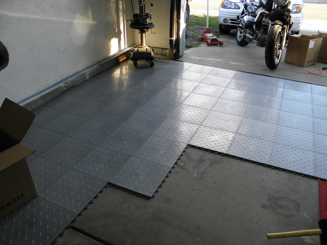 Garage deck flooring reviews