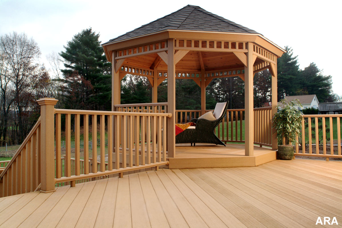 Gazebo on deck design