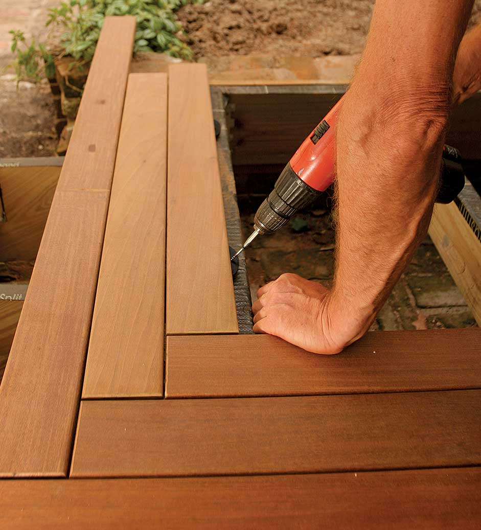 Gorilla deck installation instructions
