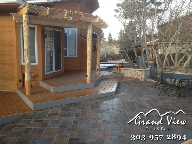 Grandview deck and patio