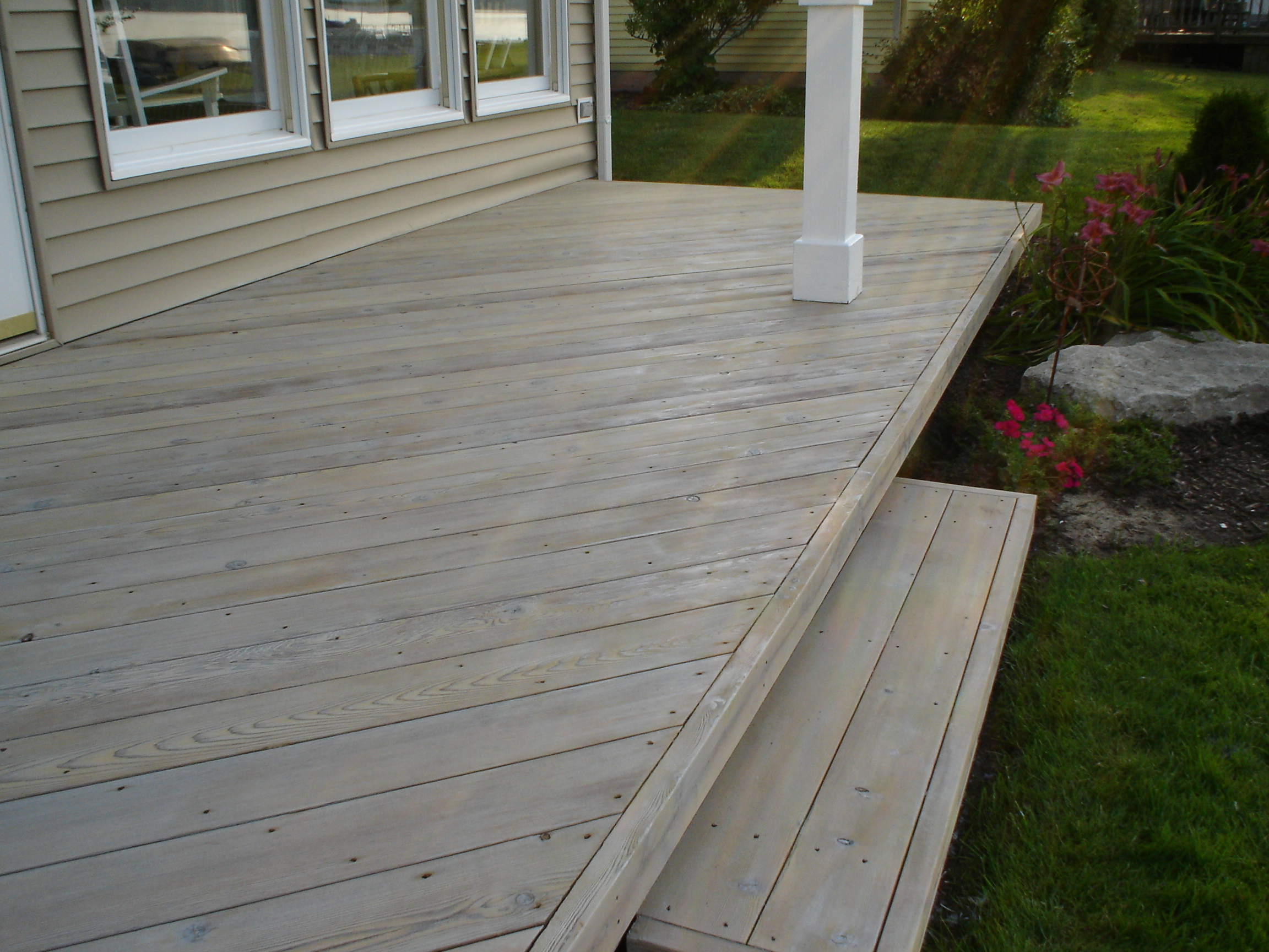 Grey deck pictures