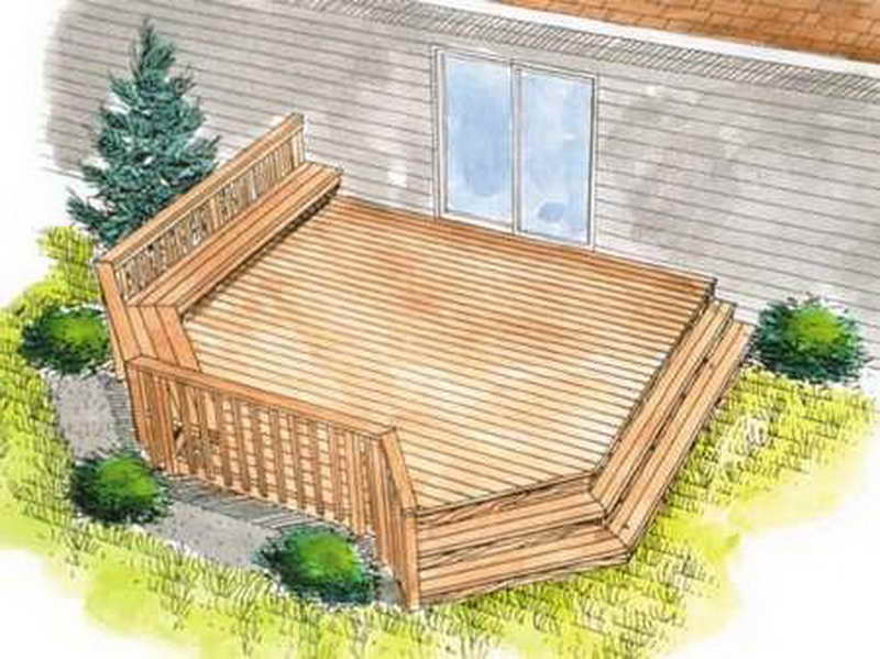 House deck designs plans