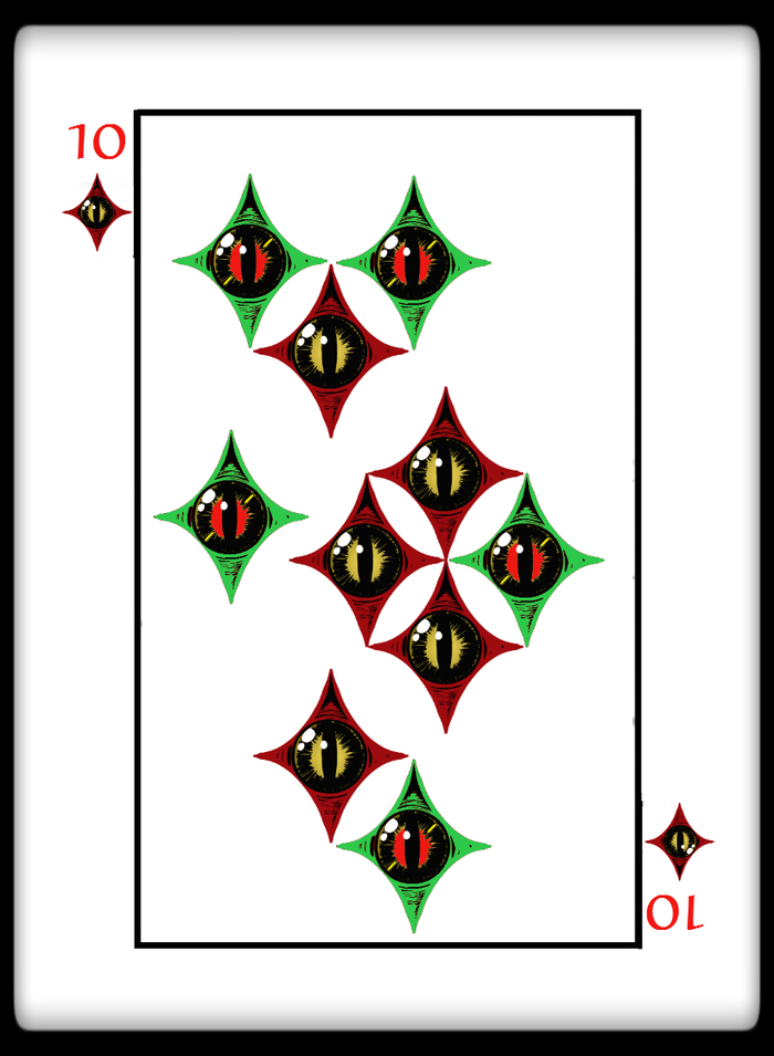 How many 6 in a deck of cards