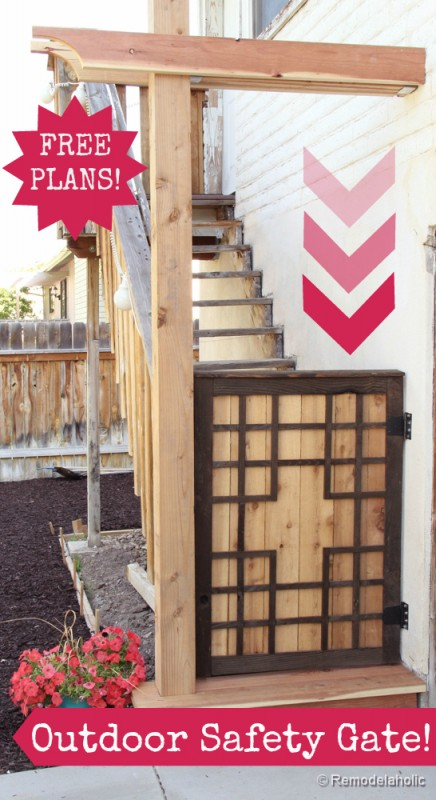 How to build a deck gate out of wood