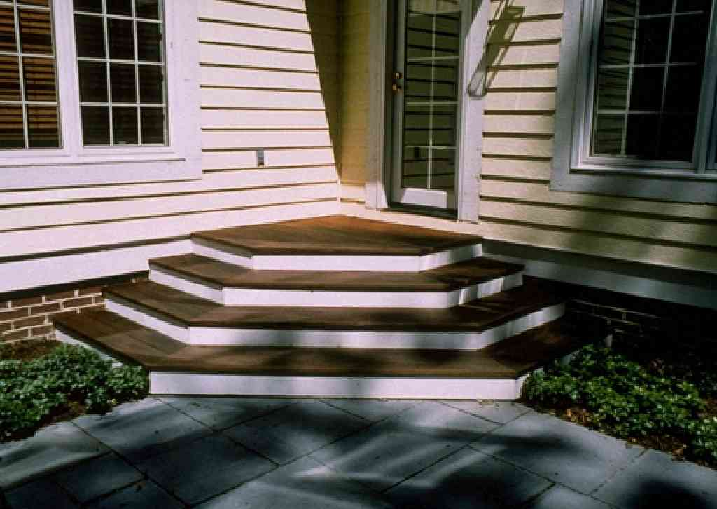 Images of deck stairs
