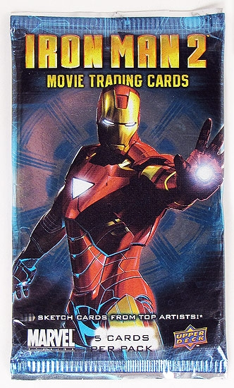 Iron man 2 upper deck