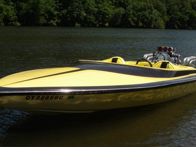 Jet deck boat for sale