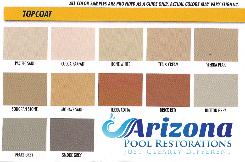 Kool deck colors pools