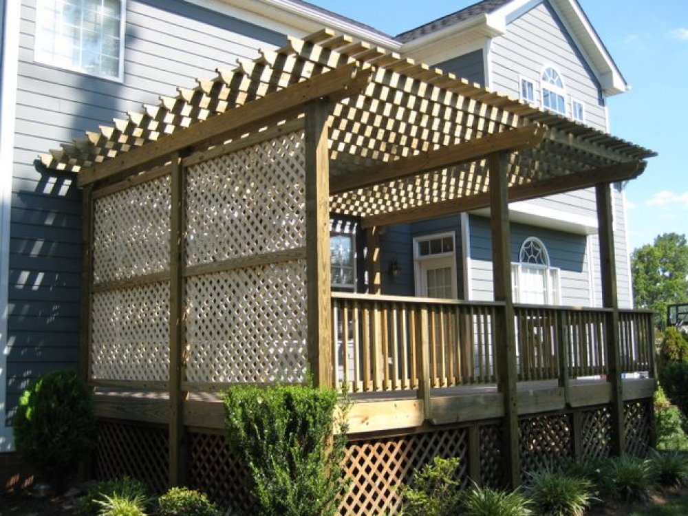 Lattice for deck