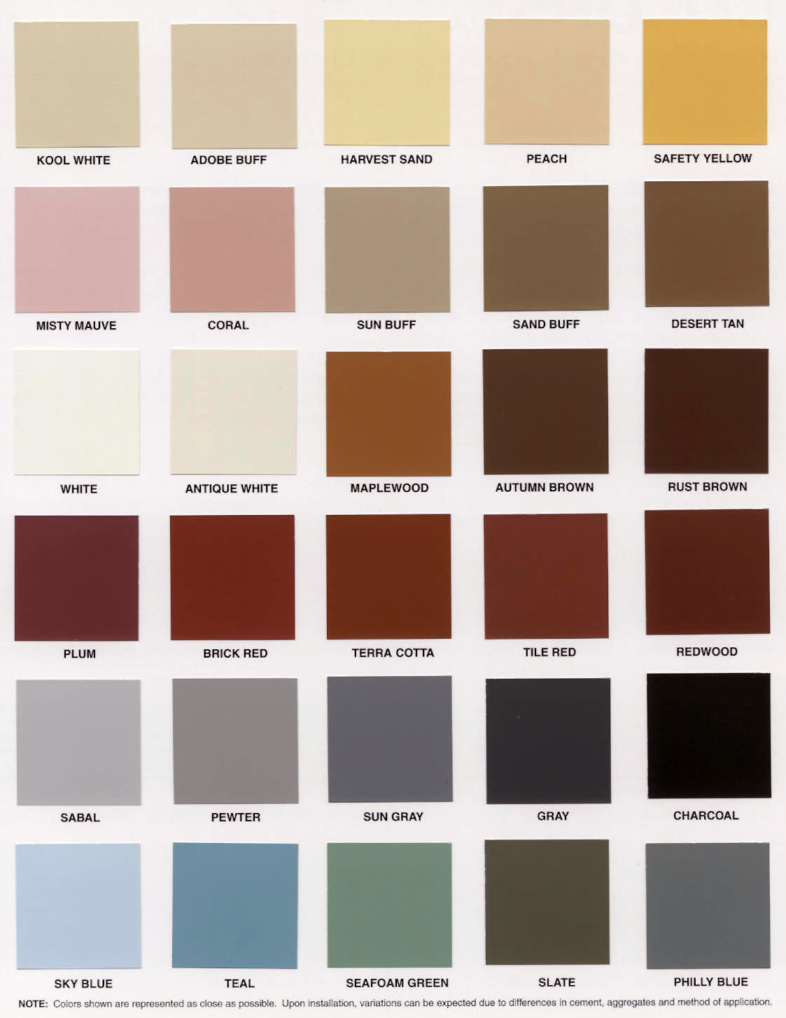 Discontinued Paint Colors