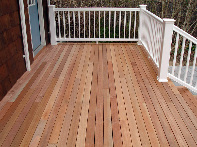 Mahogany deck pictures