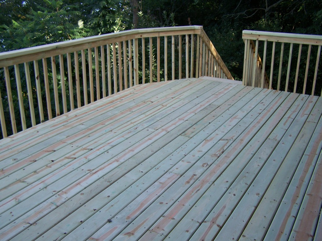 New deck pictures