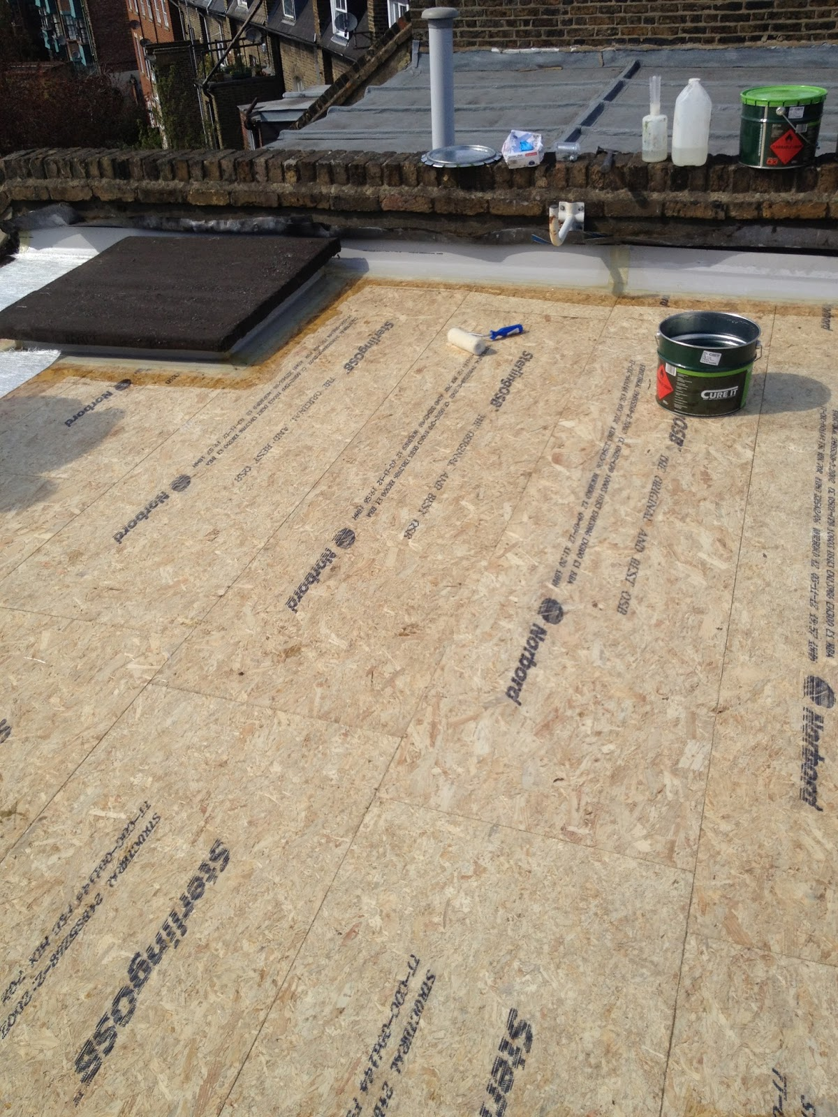 Osb 3 roof deck