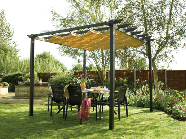 Outdoor canopy backyard