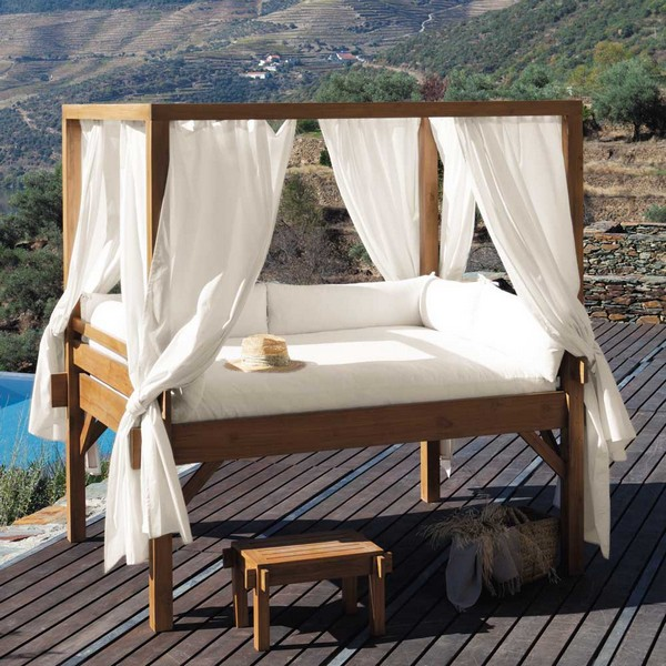 Outdoor canopy beds for sale