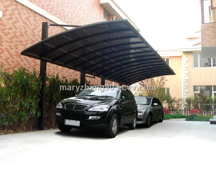 Outdoor canopy garage