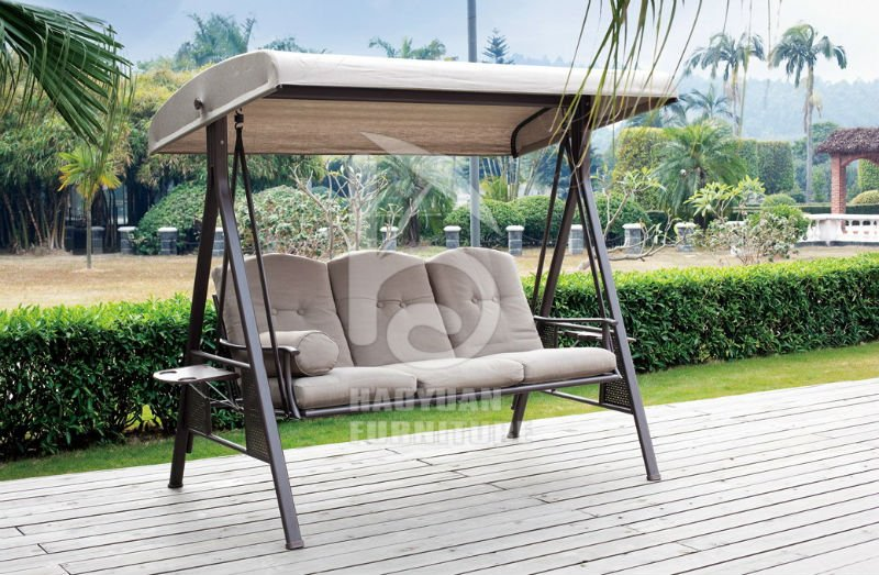 Outdoor canopy swings for adults