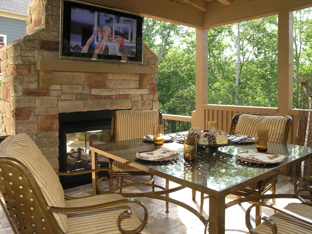 Outdoor deck accessories ideas