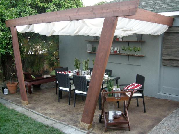 Outdoor deck cover ideas