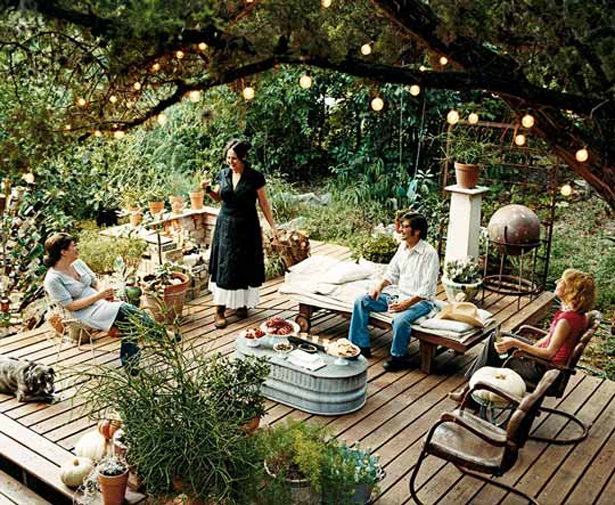 Deck Garden Ideas find this pin and more on i love my small houseand i love small house ideas Garden Deck Construction Outdoor Deck Garden Ideas